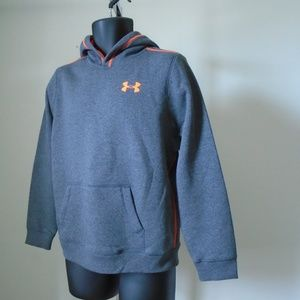 Under Armour Youth XL Gray Hoodie